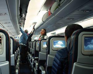 Die Economy Class der Aeroflot