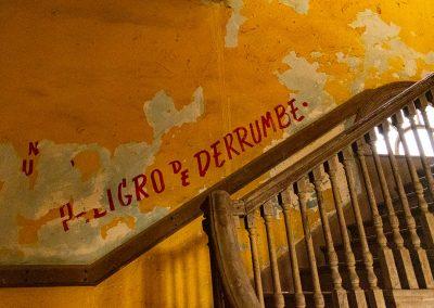 Treppe in die zweite Etage des Havana Yacht Club