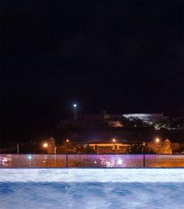Kubanews: Blick von der Bar des Hotel Packard auf El Morro