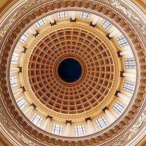 Kubanews: Die Kuppel des Capitolio von innen.
