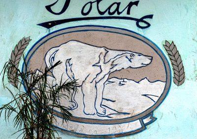 Kubanews: Das Logo der Brauerei Polar.