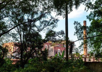 Kubanews: Die alte Brauerei ist auch als Ruine noch beeindruckend.
