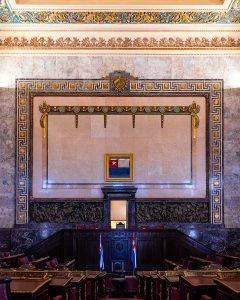 Kubanews: Der Abgeordnetensaal im rechten Flügel des Kapitol