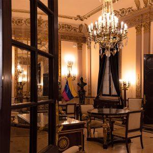 Kubanews: Salon Bolivar im Kapitol von Havanna