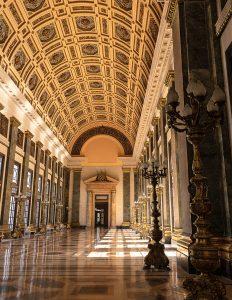 Kubanews: Nordflügel des Kapitols, Korridore der verlorenen Schritte
