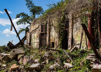 kubanews: Trümmerfeld der ehemaligen Villa