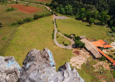 Kubanews: Überblick auf das ganze Tal vor dem Mural de la Prehistoria