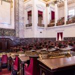 Parlamentssaal im Capitol